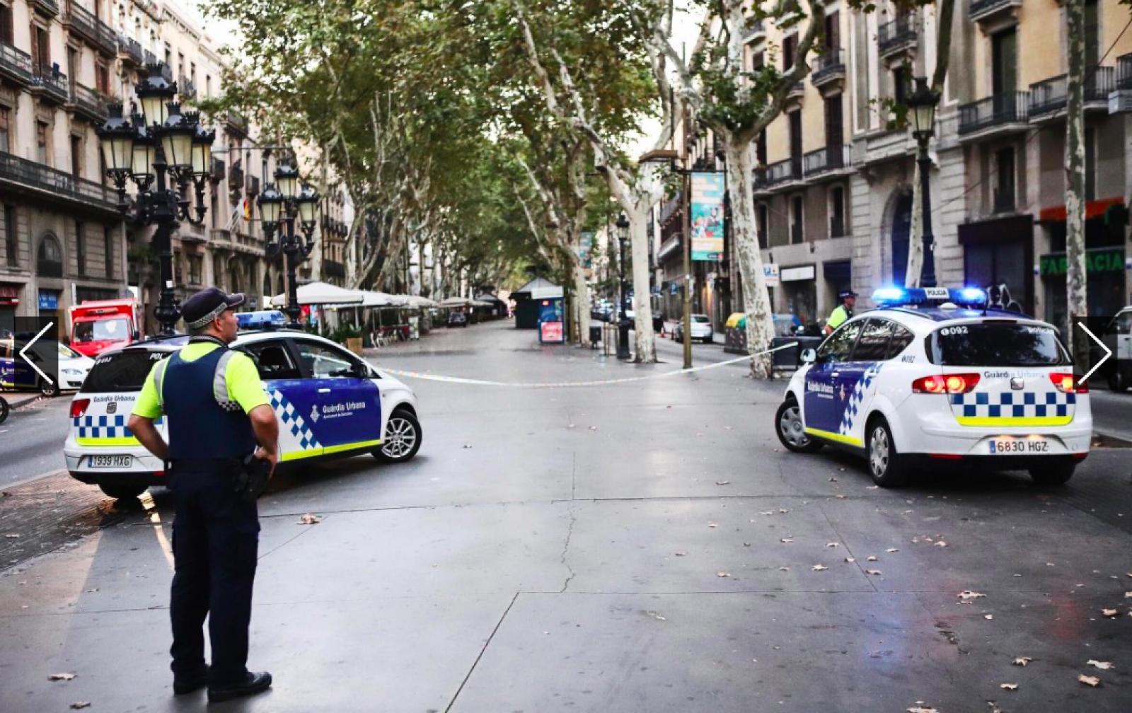 Atemptat a les Rambles de Barcelona