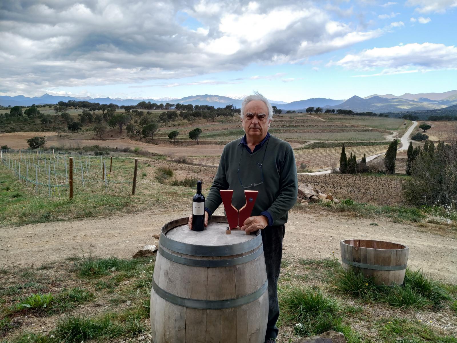 Josep Lluís Iglesias responsable del Celler Mas Pòlit de la DO Empordà