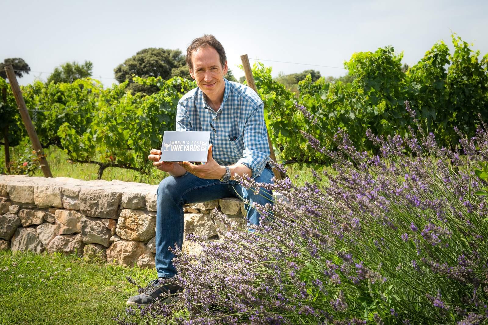 Miquel Torres amb el reconeixement de World's Best Vineyars