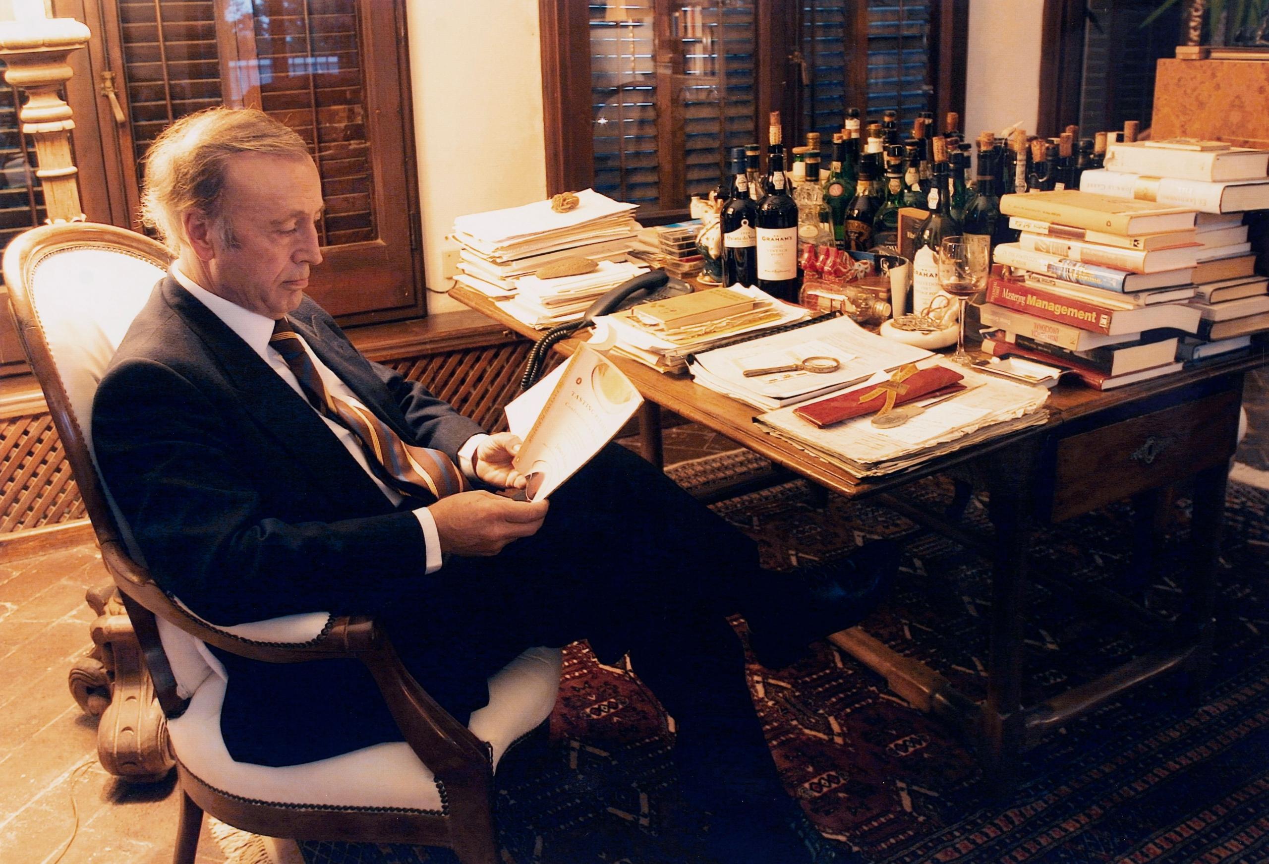 Miguel A. Torres en una imatge de 2004   Família Torres