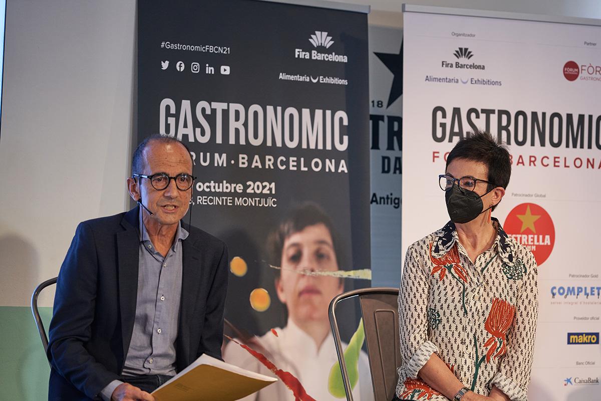Presentació del Gastronomic Forum 2021 a l'Antiga Fàbrica Damm| Iñigo Somovilla