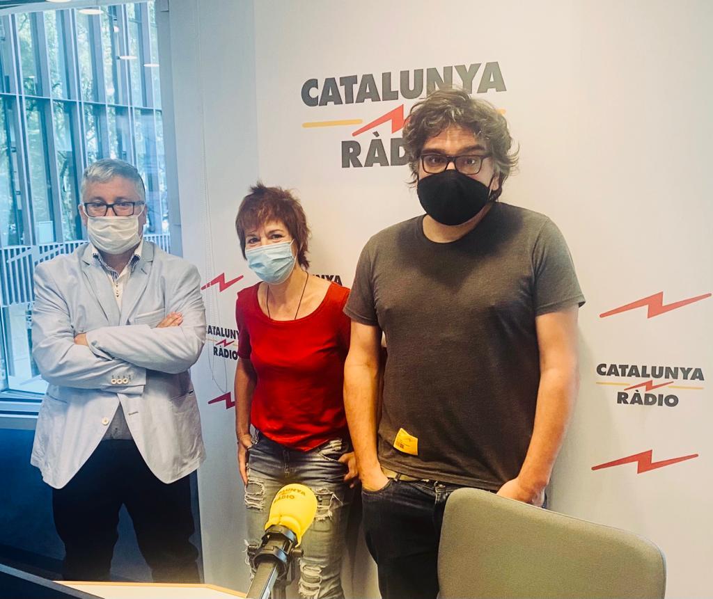 Ramon Francàs, Empar Moliner i Àlex Torío, l'equip del Tast Vertical   R.F.