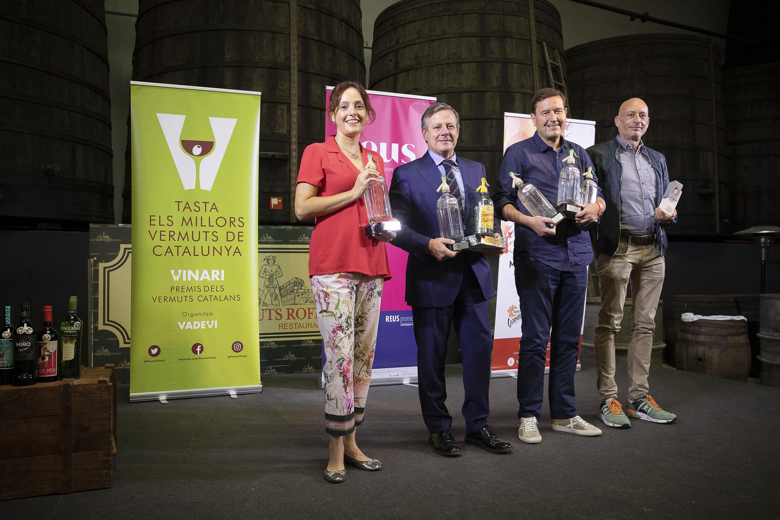 Lliurament del VII Premis Vinari dels millors vermuts catalans |Jordi Play